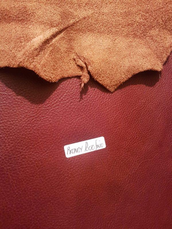 Brandy Portofino Leather