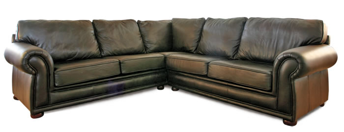 Full Leather Corner Unit Leather Supplier