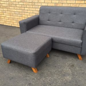 1.6m by 1.6m couch with ottoman R3600